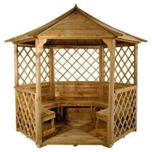 altany drewniane slupsk