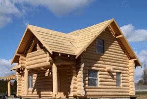 slupsk domy z bali